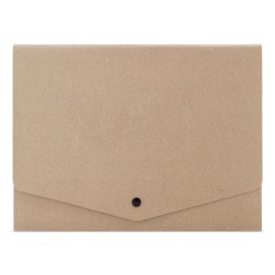 Porte documents en carton recyclé